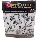 Optimum Optical Stems Design OptiCloth Microfiber Optical Cleaning Cloth