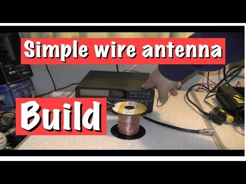Long Wire Antenna Build