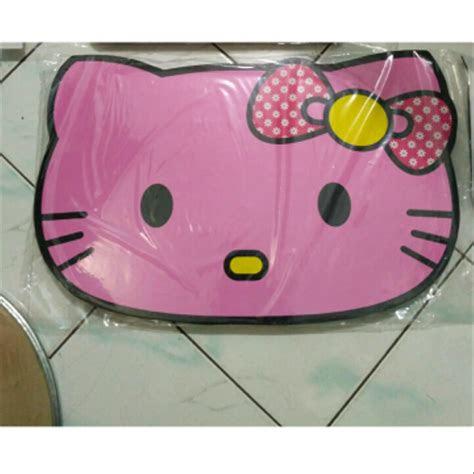 jual meja lipat anak gambar  kitty pink lucu  lapak