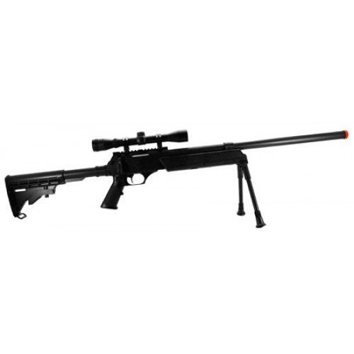Save On Best Cyma M187d Bolt Action Airsoft Sniper Rifle Fps 550 4x32 Bosile Scope Collapsible Stock Bipod Airsoft Gun Reviews And Ratings Christmas Gifts 2012 Cyma M187d Bolt Action Airsoft Sniper