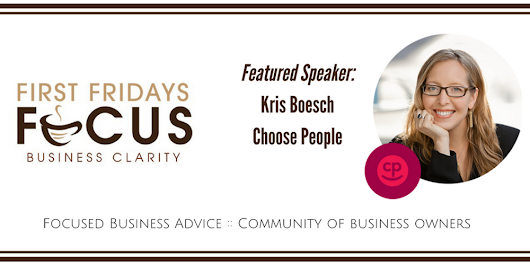 October First Fridays Focus: Culture 2.0: How to Make Your Employees Happy & Your Company Money