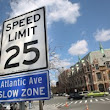 25 MPH speed limit in New York