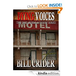 Dying Voices (The Carl Burns Mystery Series)
