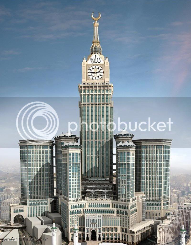 jam tertinggi di mekah