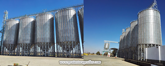 Wheat Steel Silos - Flat Silo, Hopper Silo, Powder Silo, Feed Silo
