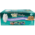 Fancy Feast Medleys Shredded Fare Adult Cat Food - 12 pack, 3 oz cans