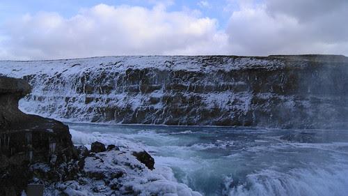 Gullfoss (Golden Falls) waterfalls, Iceland
