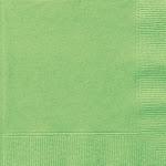 Unique Napkins, Luncheon, Lime Green, 2 Ply - 20 napkins