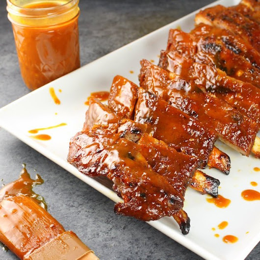 """Secret Sauce"" BBQ Baby Back Ribs 