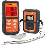 ThermoPro TP08 Dual Probe Wireless Remote Kitchen Thermometer - Monitors from 300 Feet Away