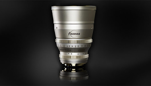 This is Fzeros new 25mm f/0.95 Cine lens - 43 Rumors