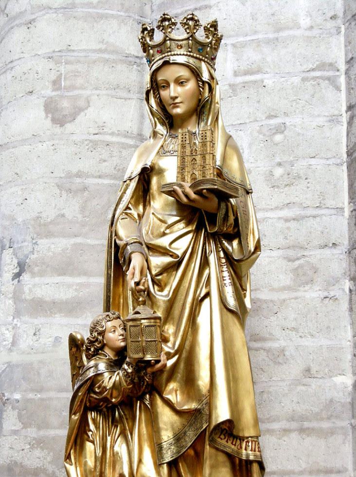 Resultado de imagen de Santa Gúdula