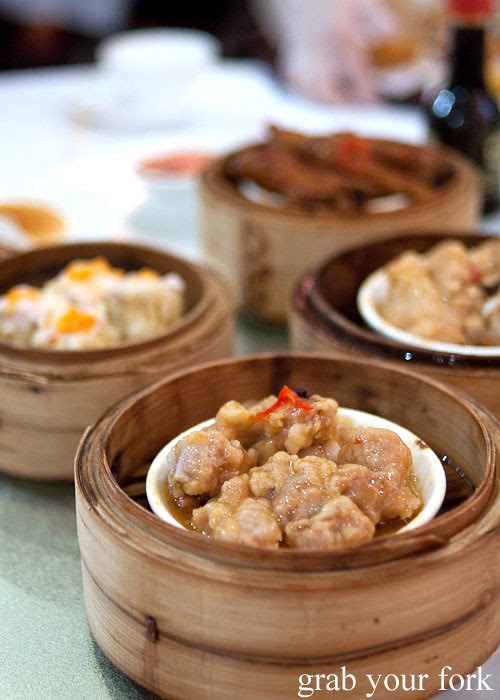 pork ribs yum cha dim sum dumplings east ocean chinatown haymarket