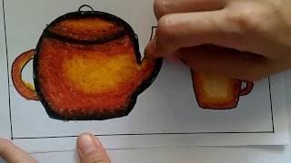 All Clip Of Belajar Mewarnai Gradasi Dengan Crayon Bhclipcom