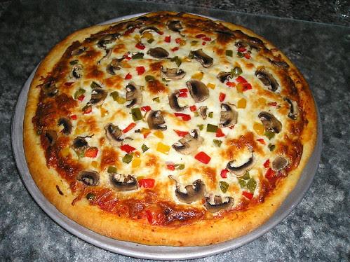 Pizza Ricardo + Sauce Boubou