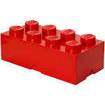 LEGO Classic Storage Brick 8, Bright Red