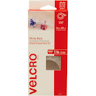 "Velcro Brand Sticky Back Tape, 5' x 3/4"" size, Dispenser Box, White"