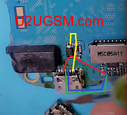 Samsung B310E Charging Solution Jumper Problem Ways