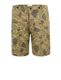 Ymc P9ag7 Camo Button Pocket Shorts
