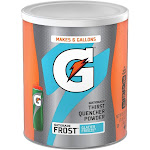 Gatorade Thirst Quencher Powder Mix, Glacier Freeze - 50.9 oz canister