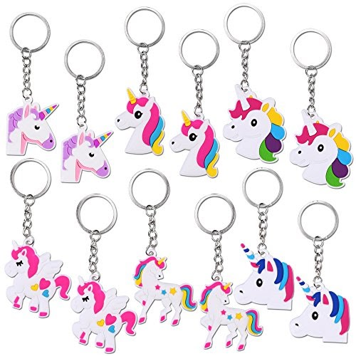 Pack of 4 Baker Ross Mini Notepad Loot Keyring Tiny Notepads to Attach to Key Rings or Bags and Perfect for Kids Party Bag Fillers