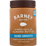 Barney Butter: Nut Butter Bare Smooth, 16 Oz