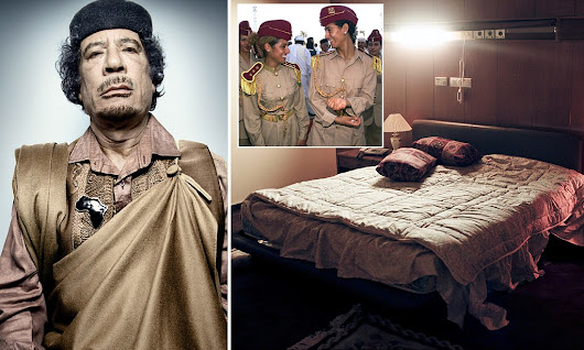 Uncovered: The macabre sex chamber of Libya's Colonel Gaddafi