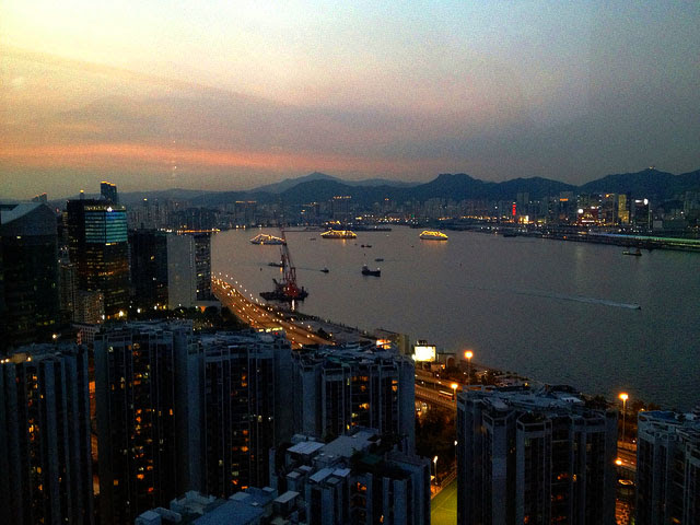 A night in cuba sugar bar east hotel hong kong beautiful view