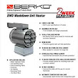 Berko Products - BWD Washdown Unit Heater - Royal Electric Supply Company