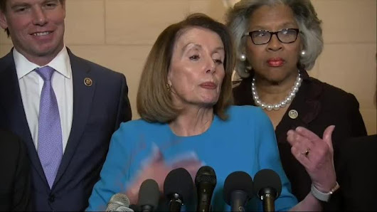 House Democrats nominate Pelosi to lead them