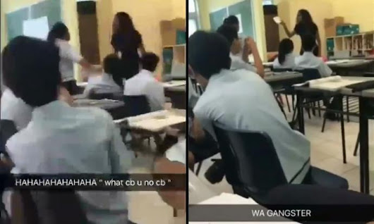 Teacher hurls vulgarities at student who yells at her in classroom - Singapore - Stomp
