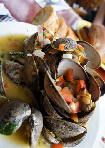 clams at Latona Pub!