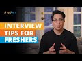 Interview Tips For Freshers | Job Interview Questions And Answers For Freshers | Simplilearn