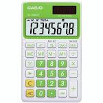 Casio Sl300vcgnsih Solar Wallet Calculator With 8-digit Display - Green - 8 Character[s] - Solar Powered - Green (sl300vcgnsih)
