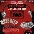 Mobb Deep, Busta Rhymes, U-God, Redman, Method Man, Onyx & M.O.P. - LIVE at the Out4Fame Festival 2014 HD