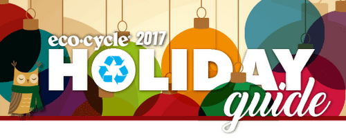 Holiday Recycling Guide for Boulder County | How to recycle holiday-related items, reduce your holiday waste, find meaningful, eco-friendly gifts and much more