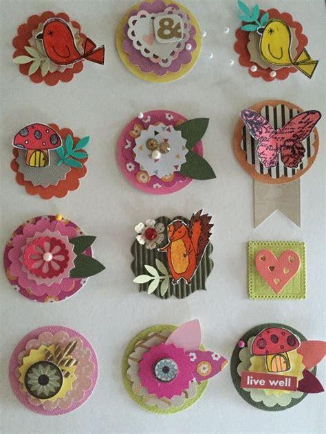 image result  scrapbook embellishments card