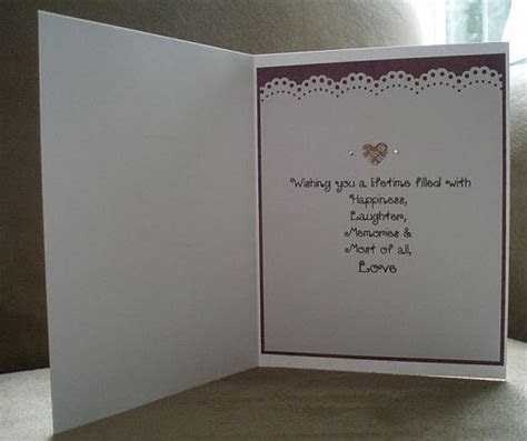 8 best Sentiments for Cards images on Pinterest   Wedding
