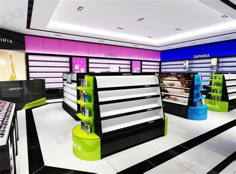 Algeria Cosmetics Shop Design Cosmetics Display DG Furniture