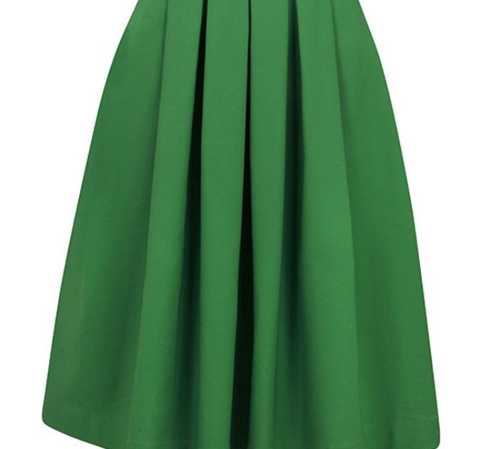 Ft Clothİng Belted Kelly Green Dress