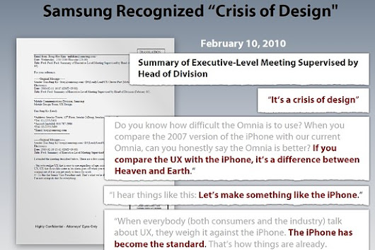 Apple's damages case: Samsung should pay $2.2 billion