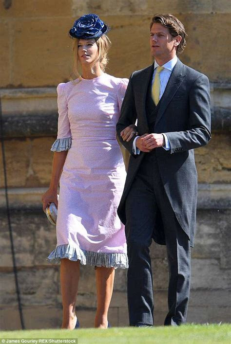 The dress worn by three guests at Harry and Meghan's royal