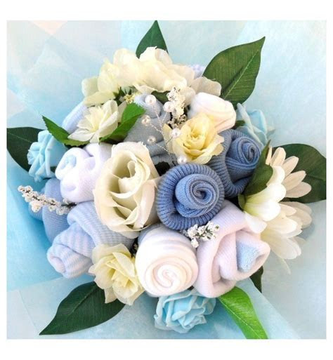 Baby bouquet   Welcome baby bouquet (boy)