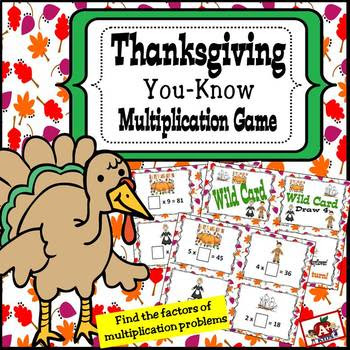Thanksgiving You-Know Multiplication