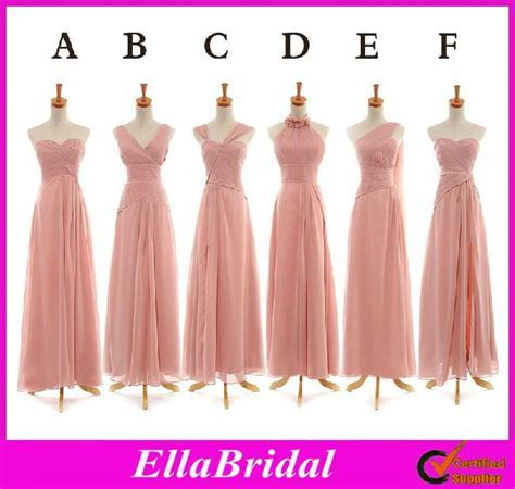 Maid Of Honor Dresses 6 Different Styles Cheap Chiffon