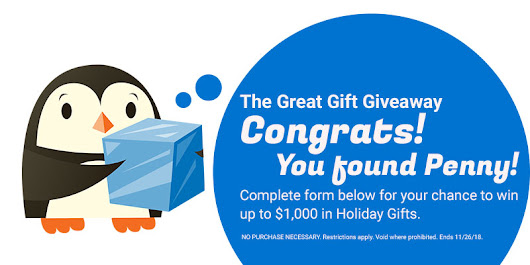 The Great Gift Giveaway