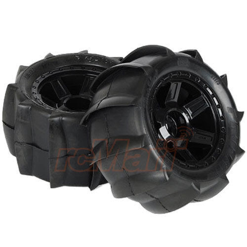 Pro Line 3 8 Sling Shot Tire Desperado 17mm Wheel Black Rc Cars Summit 1179 11 Ebay