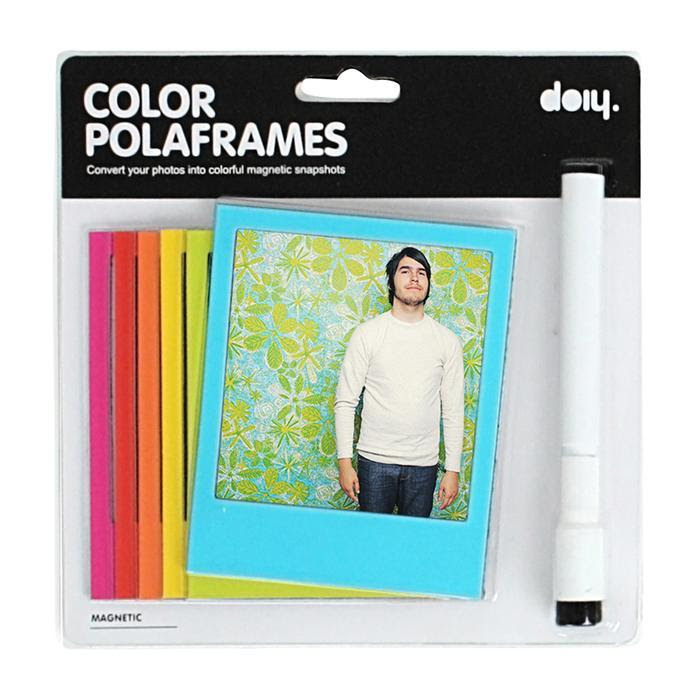 Polaframe Multi Coloured Fridge Magnet Photo Frames Family Fun