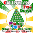Christmas Toy Drive Flyer Template 3 for Microsoft Word, Microsoft Publisher and Inkscape, Free Download - Edit and Print | FlyerTutor.com