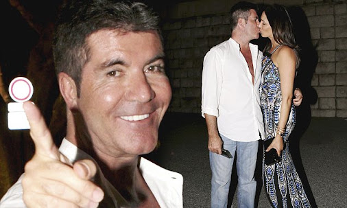 Simon Cowell shares after-date smooch with girlfriend Laura Silverman